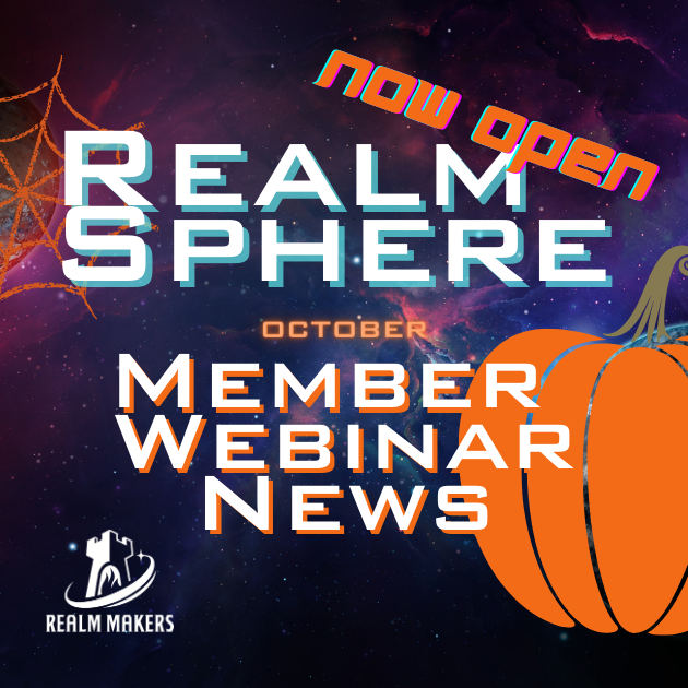 Member Webinars for October