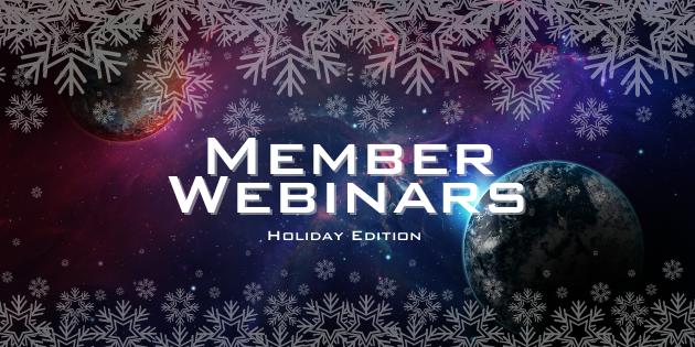 Upcoming Member Webinars